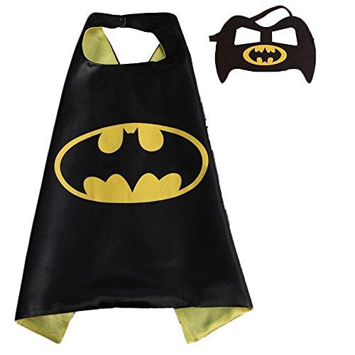 Hero Costumes Factory (Bikini Factory Halloween Christmas Kid Superhero Cape and Mask Cosplay Costume)
