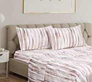 Home Beyond Printed Bed Sheets Set - Bedding Sheet Set with Deep Pocket - Super Soft Brushed Microfiber - Wink