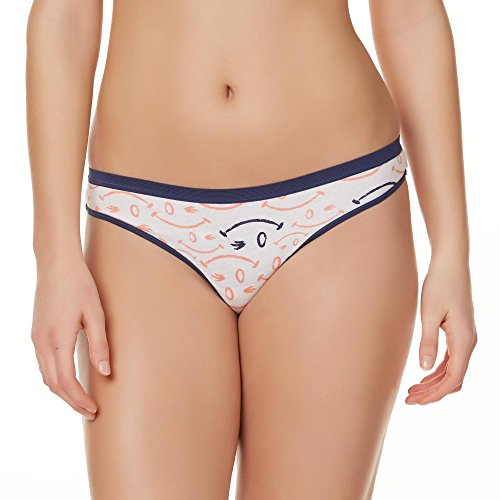 Joe Boxer Women's 6-Pack Thong Panties Size 9