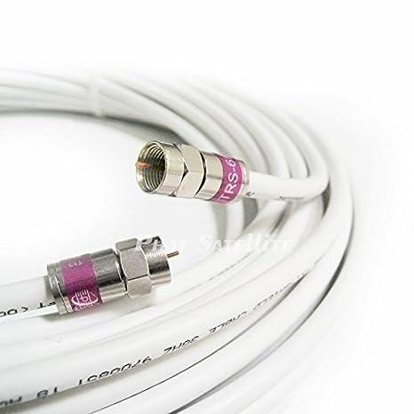 1 FT fabricado en Estados Unidos CommScope 2275 V CMP Plenum RG6 Cable Coaxial 75 Ohm