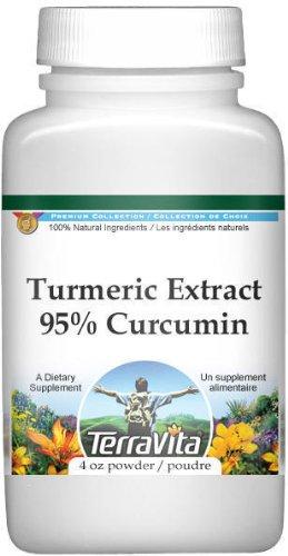 Turmeric (Curcuma) Extract 95% Curcumin Powder (4 oz, ZIN: 517043)