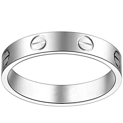 Pleasure & Fire Ant Women Fashion Lucky Titanium Steel Love Ring - Eternal Symbol