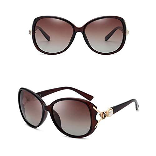 soleil uniques mode mode pour mignonnes de tendance Round mode Face de Sunglasses New Lunettes femmes Lunettes Polarized la protection et Lunettes lunettes D UV élégantes pour simple q4Rn5
