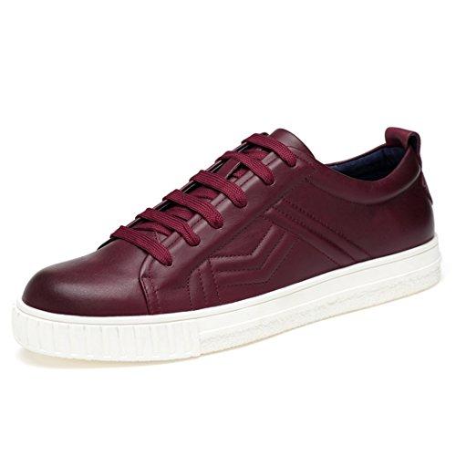 Minitoo LHEU-LH2067, Sneaker Uomo, Rosso (Burgundy), 39,5 EU