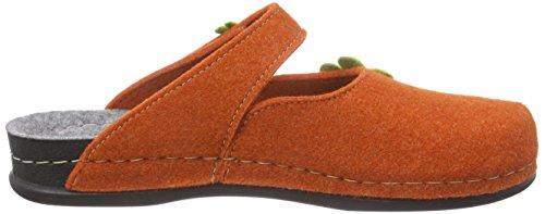 Manitu 320367 Damen Pantoffeln Orange (Orange)