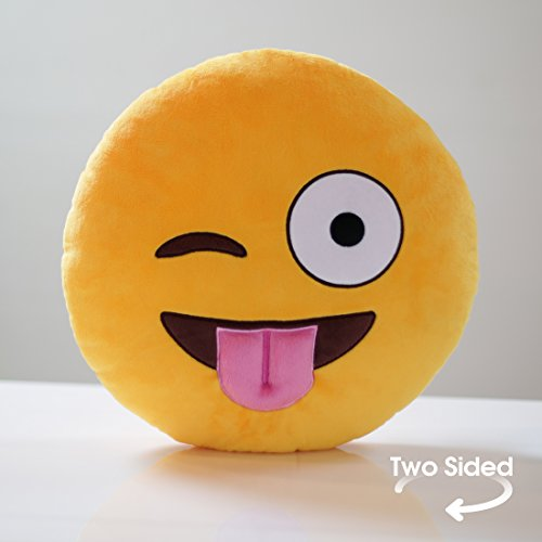 Double-Sided Emoji Pillow