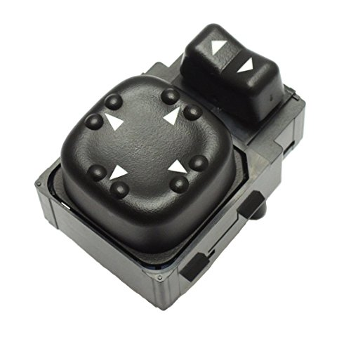 Power Mirror Switch for Chevy Chevrolet Silverado Sierra Tahoe Yukon Suburban Avalanche, 2002 GMC 2500HD (Auto Parts Mirrors)