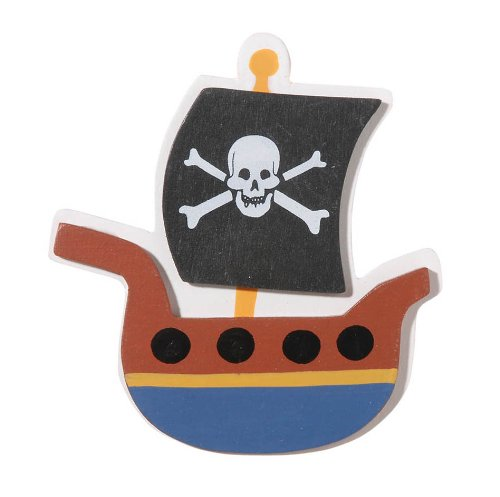 Darice 9189-90 Pirate Ship Cutout (Ship Out Cut)