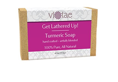 Vi-Tae Organic Turmeric Soap, 4 oz.