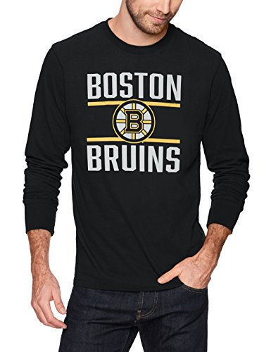 Bruins T-shirts - NHL Boston Bruins Men's Ots Rival Long sleeve Tee, X-Large, Jet Black