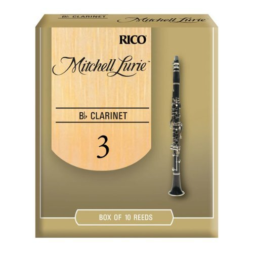 Mitchell Lurie Bb Clarinet Reeds  Strength 3 0  10 Pack
