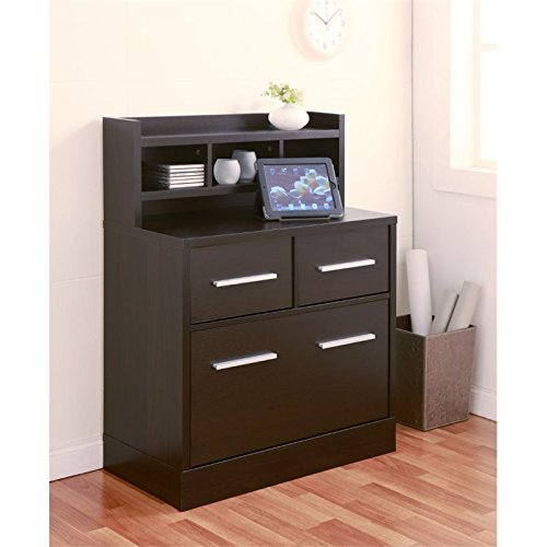 Furniture of America Mericle File Cabinet in Cappuccino