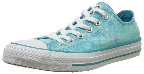 Converse Chuck Taylor All Star Tie Dye OX, Sneaker,Unisex - adulto (Turquoise (Turquoise/Blanc))