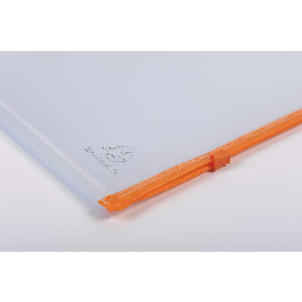 colore: trasparente//colorato confezione da pezzi Exacompta cerniera guscio 23,5/x 30/cm Catalogo