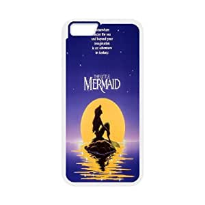 "[MEIYING DIY CASE] For Apple Iphone 6,4.7"" screen Cases -The Little Mermaid - Ariel-IKAI0447748"