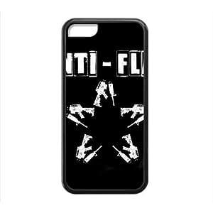 MMZ DIY PHONE CASERockband Modern Fashion Guitar hero and rock legend Phone Case for iphone 5c(TPU)