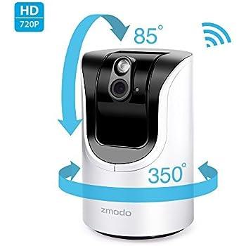 Amazoncom  Zmodo Pivot P HD  Rotating Wireless Allin - Small camera for home