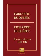 Code civil du Québec 2018-2019