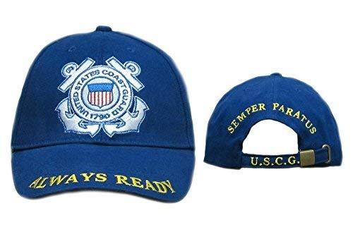 U.S. Coast Guard Insignia Embroidered Ball Cap