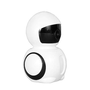 ... Vigilancia De La CáMara 1080P Smart Interior Vigilancia InaláMbrica CáMara 2 Millones HD 180 Grado Angular CáMara De Vigilancia WiFi: Amazon.es: Jardín