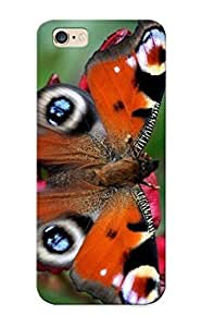 New Fashion Premium Tpu Case Cover For Iphone 6 Plus - Buerfly Case For New Year's Day's Gift