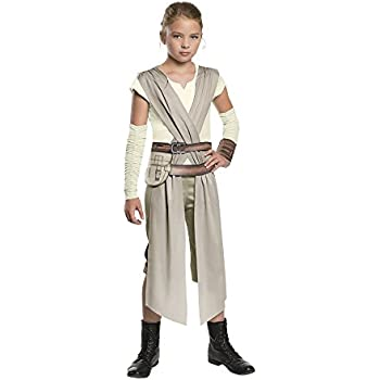 Star Wars: The Force Awakens Childs Rey Costume, Medium