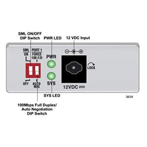 Image of Network Transceivers Allied Telesis TAA 10/100/1000T to 1000LX/SCSNGL Mode Mini Media & Rate CNVRTR