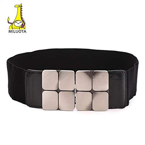 MILUOTA Women Cummerbunds Elastic Bow Long Belt Waist Belt Bukle Fashion MU238