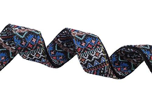 ZEALUX Bohemia style Ukulele Strap Comfortable Cotton /& Leather Adjustable Uke /&