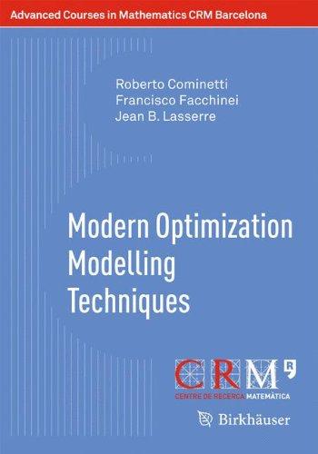 Barcelona Jean (Modern Optimization Modelling Techniques (Advanced Courses in Mathematics - CRM)