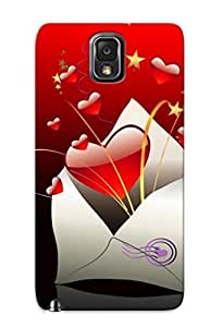 AHyqumf4865fscyL Premium Love Letter Back Cover Snap On Case For Galaxy Note 3