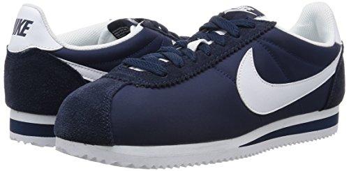obsidian Bleu Chaussures Homme Nike Classic Cortez Gymnastique De Pour White Nylon 8qz8agwx