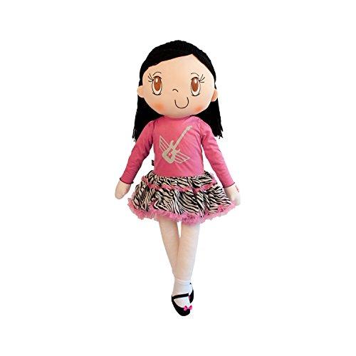 My Friend Huggles 1-Piece Rock a Bella Tutu Dress for Large 34-Inch Children's Life Size Soft  Doll