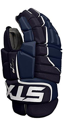 STX Ice Hockey Stallion HPR 1.1 Senior Ice Hockey Glove, Navy/White, 14
