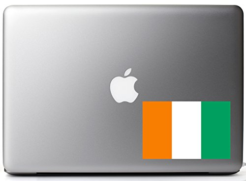 Republic of Côte d'Ivoire Country Pride Flag Full Color - Vinyl Decal for 13