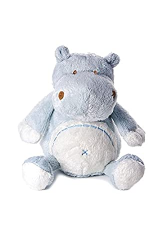 d347c1a9415 Mousehouse Gifts Stuffed Animal Soft Toy Blue Hippo Teddy Suitable for  Newborn Boy