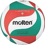 Molten-V5M4000-Pallone-da-pallavolo-colore-BiancoVerdeRosso