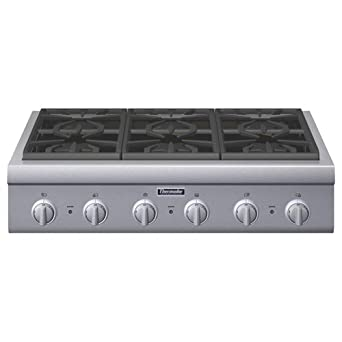 thermador pcg366g. thermador professional series pcg366g 36 pro-style gas rangetop 6 pedestal star burners pcg366g