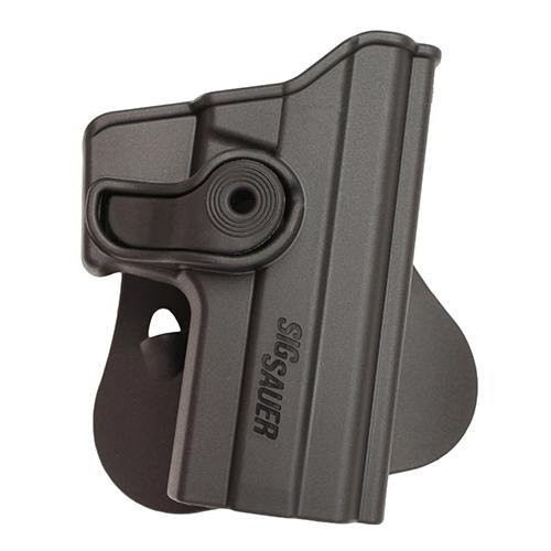 SigTac Retention Roto Paddle Holster, Glock 20/21/30/37/38, Black, Right