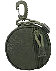 F Fityle Molle Key Pouch Coin Purse Headphones Earphone Case Protective Bag