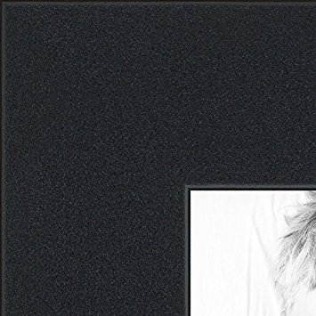 (ArtToFrames 10x30 inch Satin Black Picture Frame, 2WOMFRBW26079-10x30 )