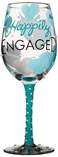 Lolita Enesco Happily Engaged Glass