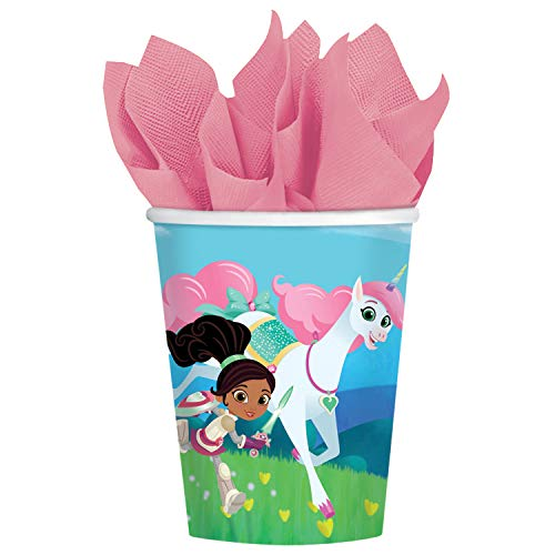- Amscan International Amscan 9904011 Party Paper Cup 8 Pack Nella The Knight, Colour