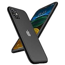 TORRAS iPhone ケース 半透明 耐衝撃 米軍MIL規格 マット感 黄ばみなし ストラップホール付き