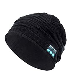 Feature:                       1. Avallable for most of devices with Bluetooth function.               2. Knitted material,fashion and keep warm with answer the phone in winter.                3. The hat can be washed.        ...