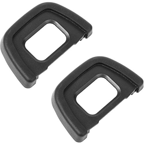 Replacement Rubber Eyecup - ChromLives Camera Eyecup Eyepiece DK-23 Replacement Viewfinder Protector for Nikon DK23 D70S D7100 D300S D300 and More(DK-23 Replacement)