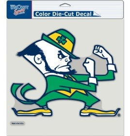 WinCraft NCAA Notre Dame 80518011 Perfect Cut Color Decal, 8