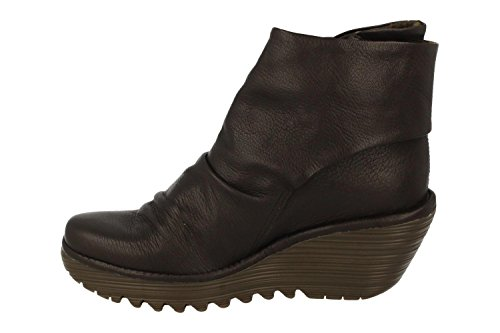Yomi765fly Botas Marrón FLY Chocolate para Mujer London EwffqR