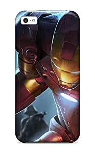 TYH - Hot Premium iron Man Case For ipod Touch 4- Eco-friendly Packaging phone case