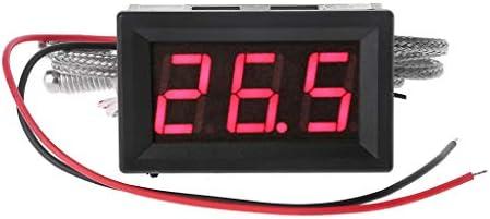 siwetg Thermoelementthermometer met ingebouwde hoge temperatuur sensor type K type M6